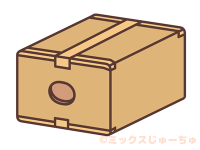 ダンボール箱空気法イラスト