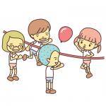 風船バレー