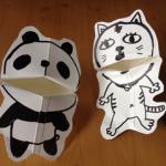 牛乳パックパック人形の作り方