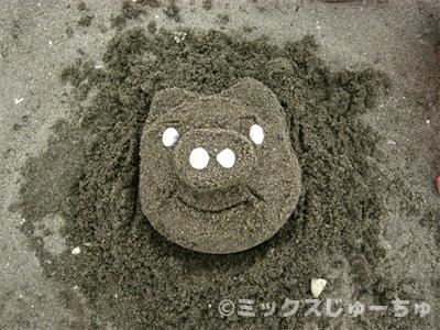 砂像の作り方