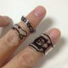 プラ版で指輪の作り方