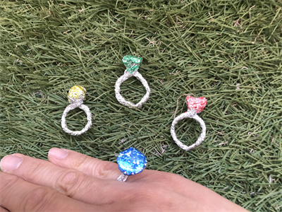 アルミホイルの指輪