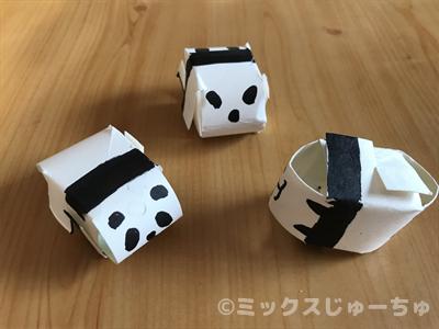 パンダの手作りおもちゃ