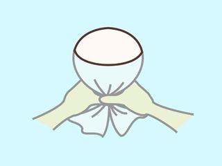 タオルクラゲの作り方