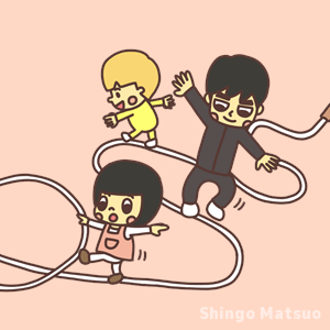 ロープあるき