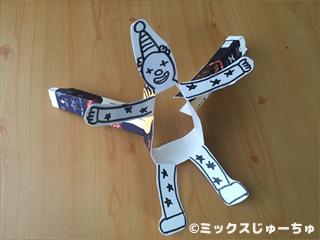 牛乳パックダンス人形の作り方27