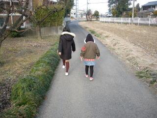 冬のお散歩