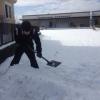 雪の滑り台の作り方