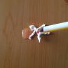 ストローの袋で動く人形の作り方