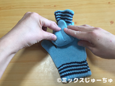 手袋人形の作り方5