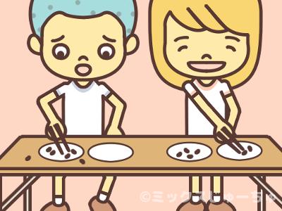 小豆運びの遊び方
