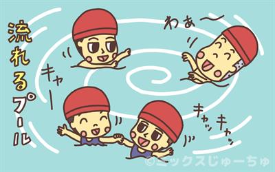 流れるプールの作り方