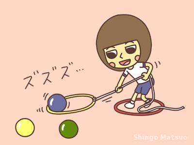 ロープを引っ張る子どものイラスト