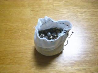 数珠玉のお手玉の作り方